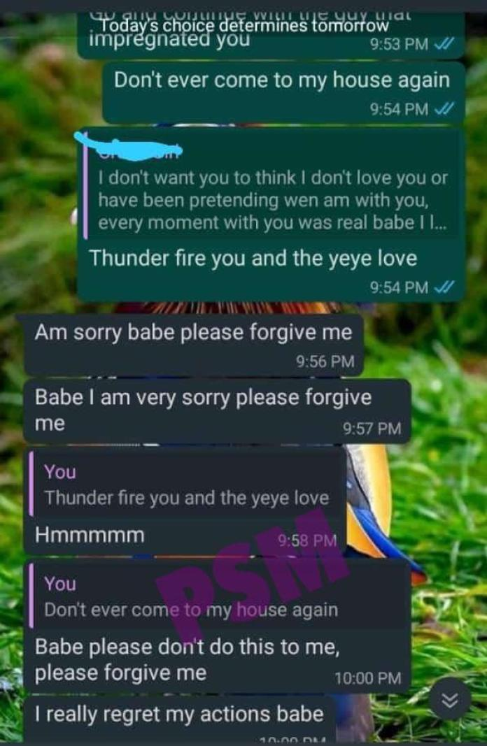 Man in tears as he narrates how his girlfriend tricked him to pay for an abortion of a child that wasn't his