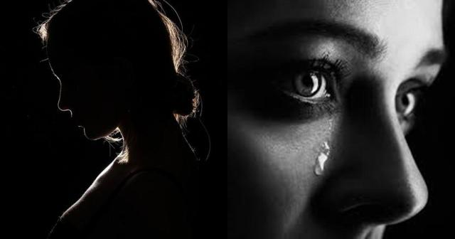 Lady in tears as she narrates her experience with a cheating husband