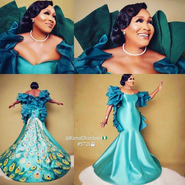 Kemi Olunloyo celebrates 57th birthday with stunning photos