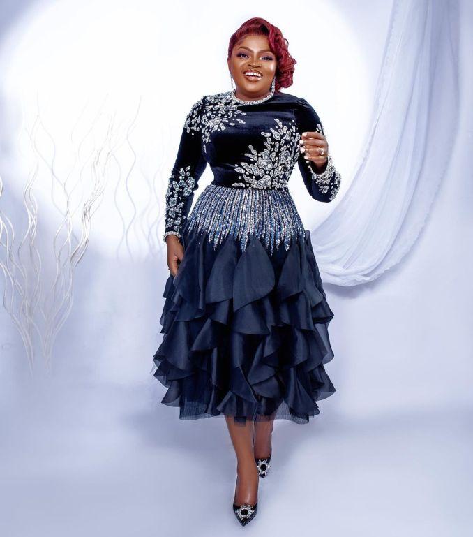 Funke Akindele birthday Celebrates