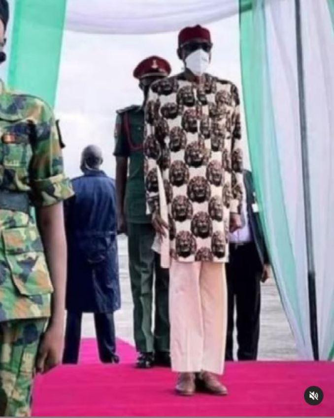 Yul Edochie Buhari Trouser