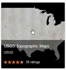 USGS topos via google map gallery