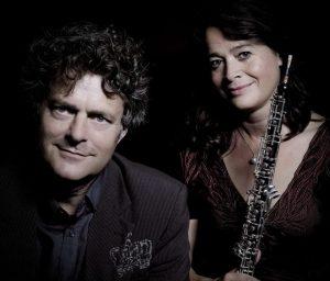Concert Enno Voorhorst (gitaar) & Pauline Oostenrijk (hobo) @ Gitaarsalon de Oostvaarders  | Almere | Flevoland | Nederland