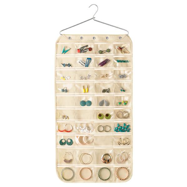 Coat Hanger Jewelry Organizer