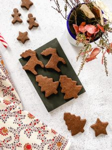 Chocolate cinnamon cookies
