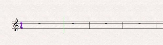 Sibelius - Ölçü Birimi Eklemek 2