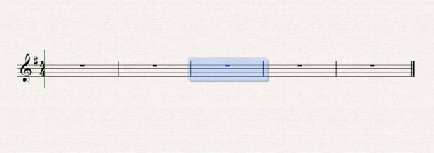 Sibelius - Ölçü Seçme