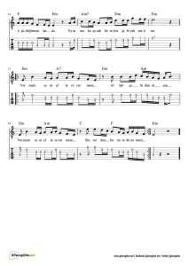 Vermem Seni Ellere Gitar Nota Tab Gitaregitim Net