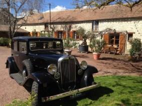 vintage wedding, vintage cars
