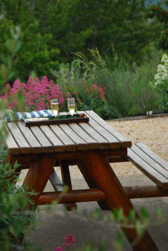 Gîte-l-amandier-entre-Provence-et-Luberon la terrasse