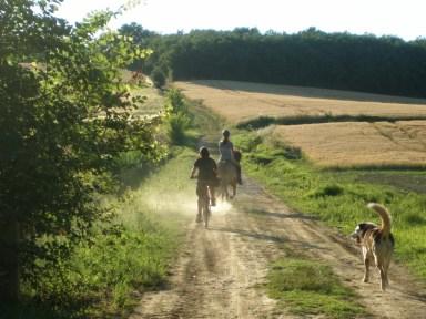Balades à pied, à vélo et à cheval