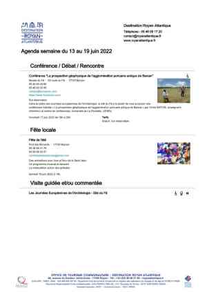 Agenda Royan Atlantique