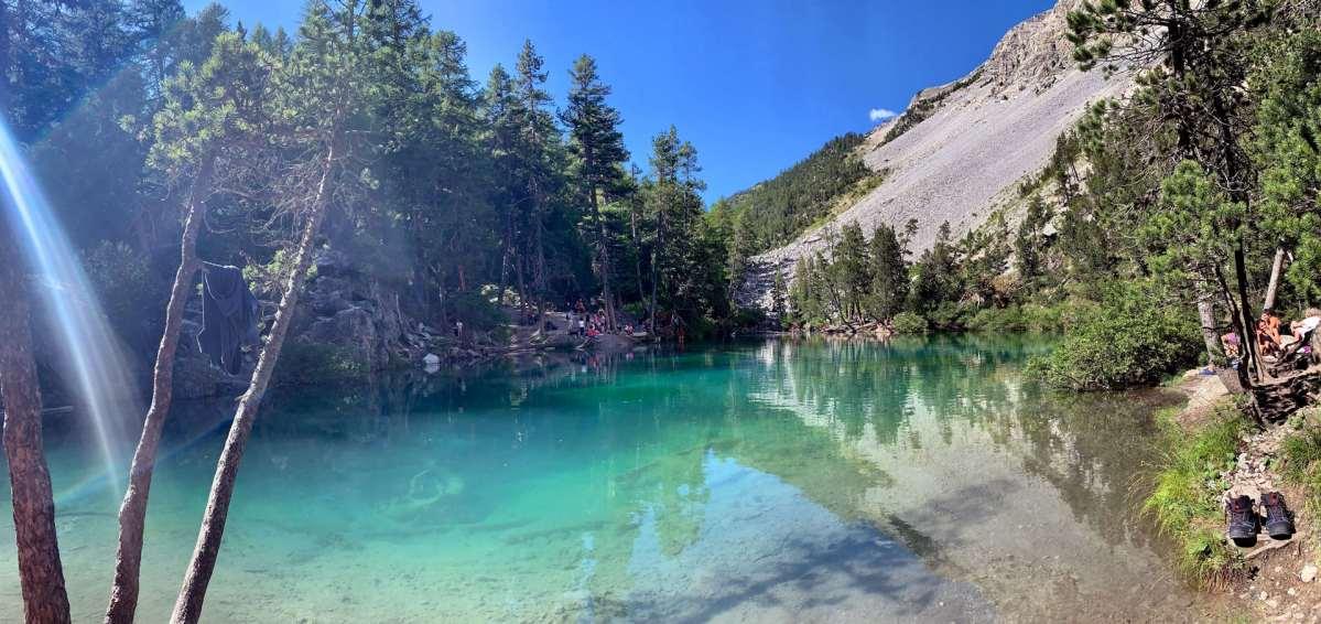 lago verde di Bardonecchia