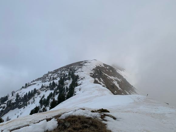 escursione al Monte Nebin vista dalla base