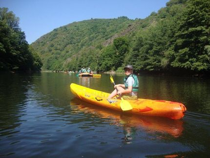 Enjoy a days canoeing on the lot river, bring a picnic and enjoy the stunning views