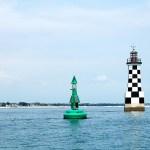 le phare de la Perdrix à Loctudy