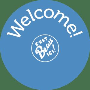 Logo Welcome c'est beau ic