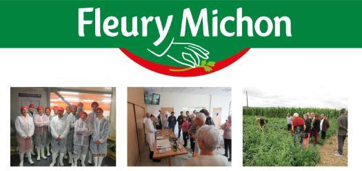 Visites d'usines Fleury Michon