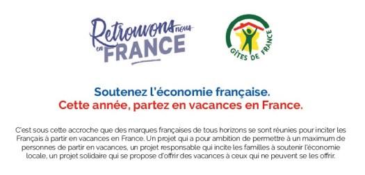 Gîtes La Bréjolière partenaire de Retrouvons-nous en France