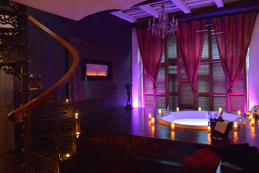 Chambres avec jacuzzi guide haut de gamme pour chambres avec wellness
