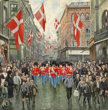 Festligt optog til kongens fødselsdag