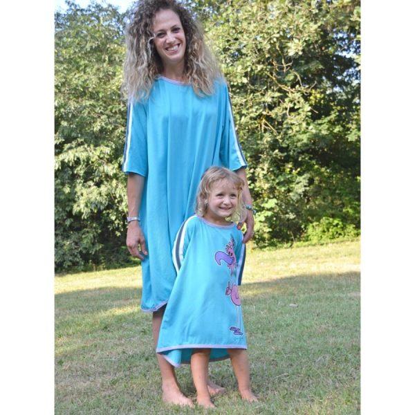 Abbigliamento coordinato mamma e figlia