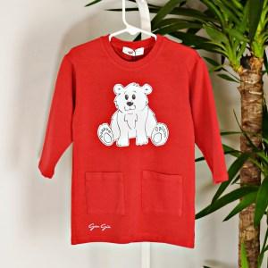Maxi felpa abbigliamento bambini