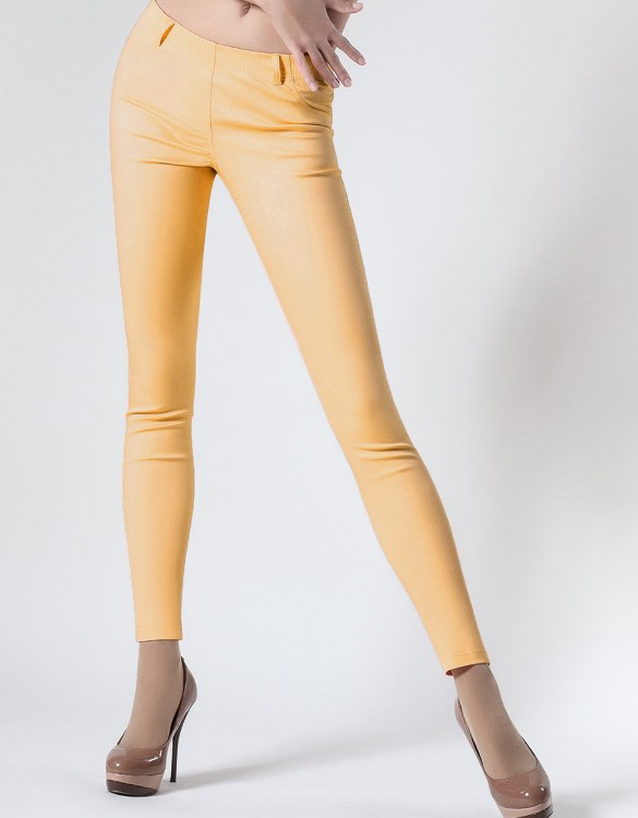 GIULIA LEGGY TONE MODEL 2 LIGHT YELLOW