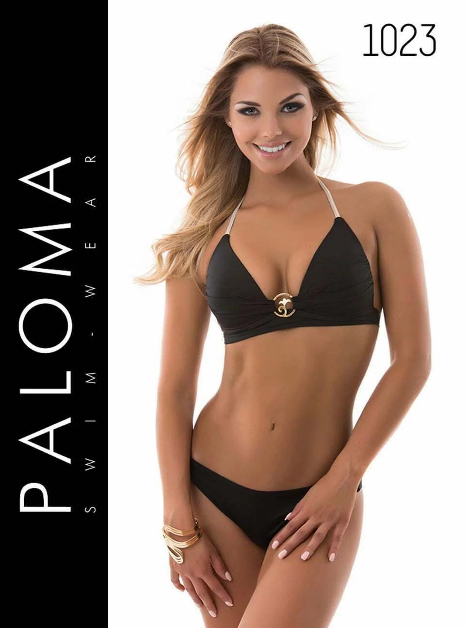 PALOMA fekete push-up háromszög bikini 1023