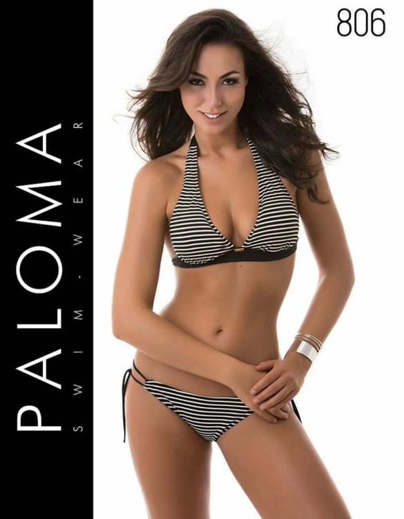 PALOMA nyakbakötős bikini fürdőruha 806