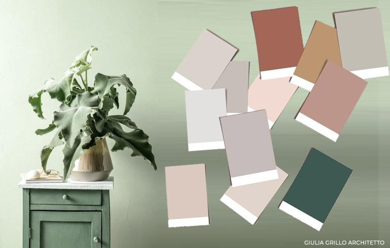 Ti serviranno per miscelare i colori e le vernici. Scegliere Il Colore Migliore Per Le Pareti Di Casa Giulia Grillo Architetto Art Home