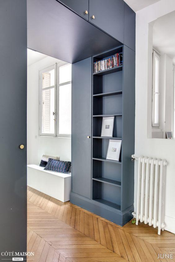 Come regale originalità alla casa! Pareti Mobili E Librerie In Cartongesso I Salvaspazio Per La Casa Giulia Grillo Architetto Art Home
