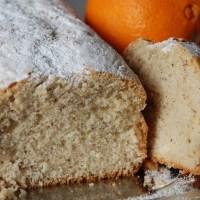 Plum cake al profumo di arancia
