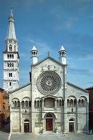 Duomo di Modena, facciata 1