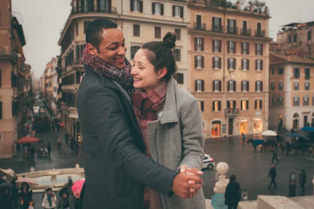 couple photoshoot in rome