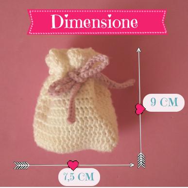 Foto: dimensione sacchetto - Giulia Pinky Time