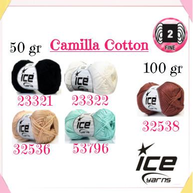 Il filato adatto per gli amigurumi è il cotone Camilla Cotton della Ice Yarns