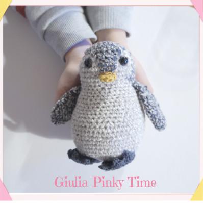 Schema pinguino amigurumi - come fare gli amigurumi