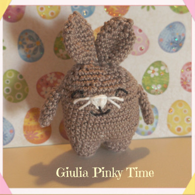 Coniglietto Square completato / Square Rabbit finished