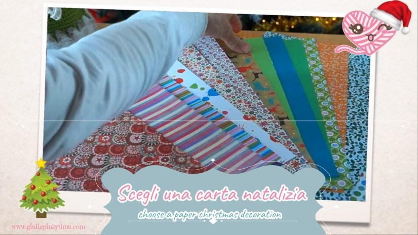choose a Christmas decorative paper
