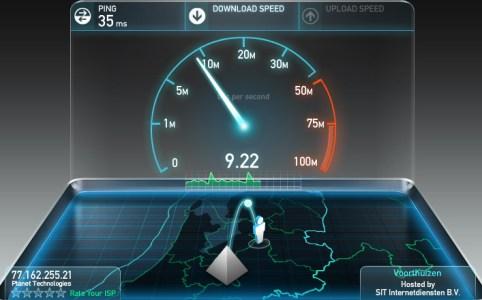SpeedTest.net Result