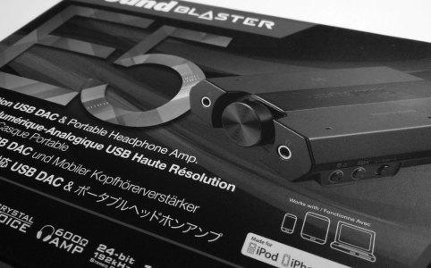Sound Blaster E5 DAC Box