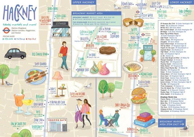 Hackney food