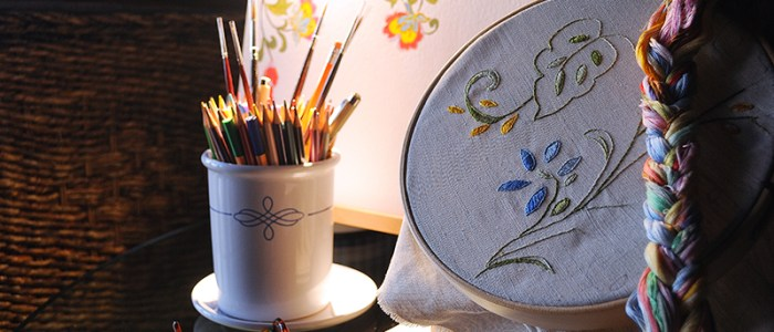 broderi, embroidery, stickerei