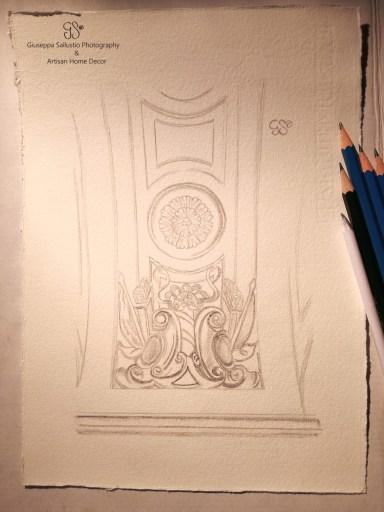 skisser från Drottningholms slott