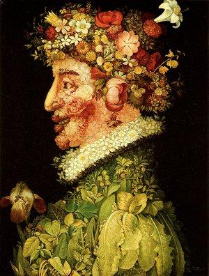 The Autumn By Giuseppe Arcimboldo Oil Painting