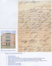 Lettera della contessa Giusti