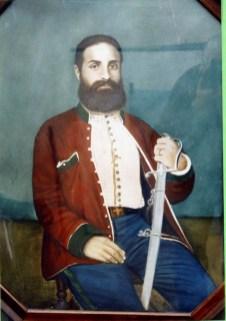 Il dottor Giuseppe Basile medico di Garibaldi (olio su tela).