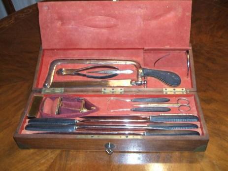 Giuseppe Basile: i suoi strumenti chirurgici