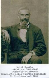 Luigi Basile (1832-1896) Farmacista-Agronomo Comandante della Guardia Nazionale di Siculiana.